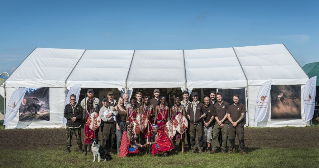 Group shot Bushcraft show